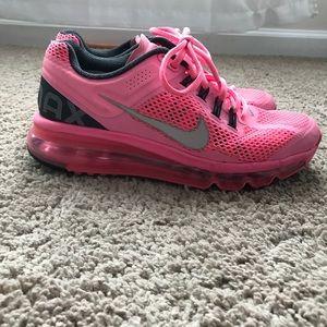 Neon pink Nike Air Max